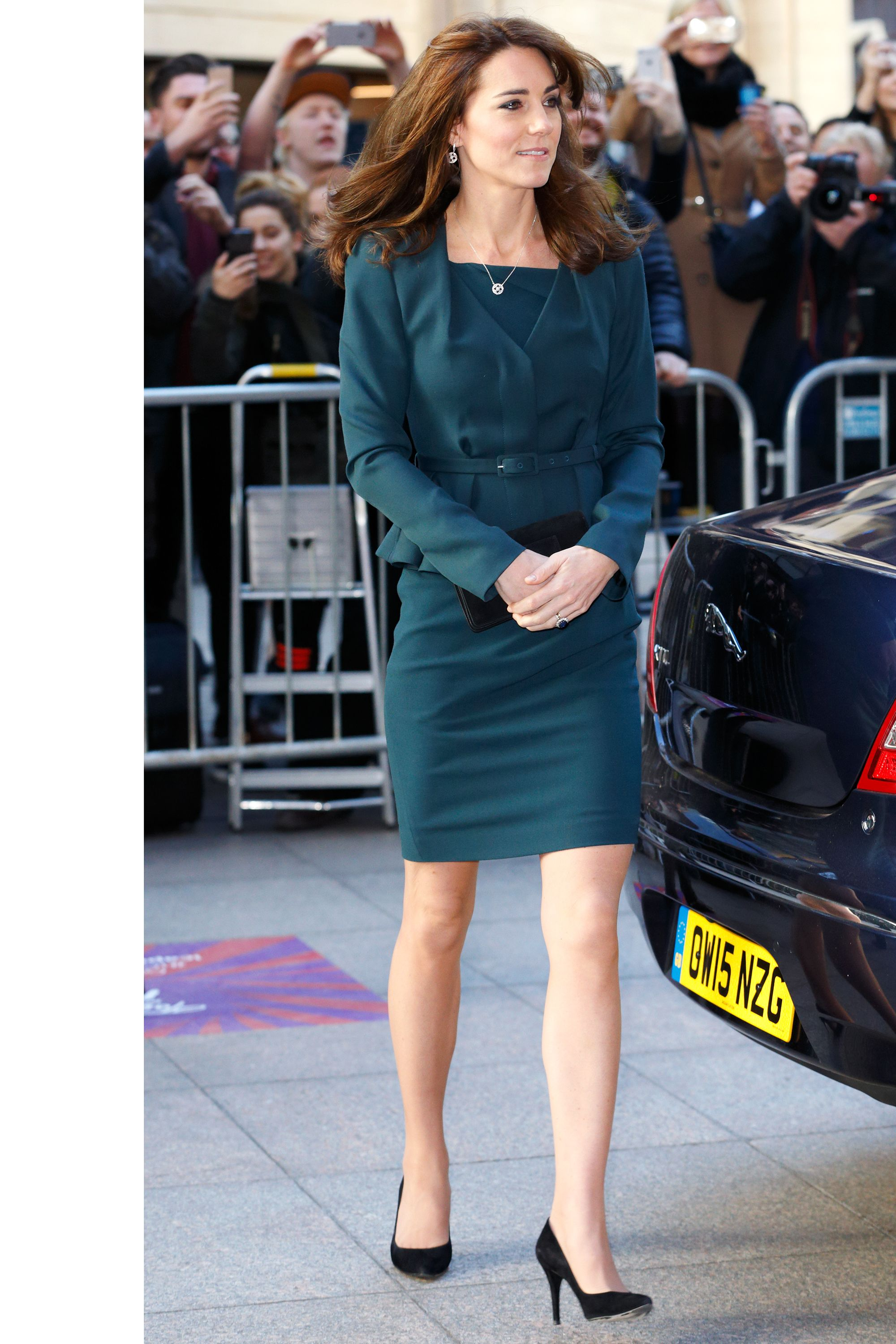 Kate middleton just wore her best maternity dressagain teal suit kate middleton just wore her best maternity dressagain ombrellifo Gallery