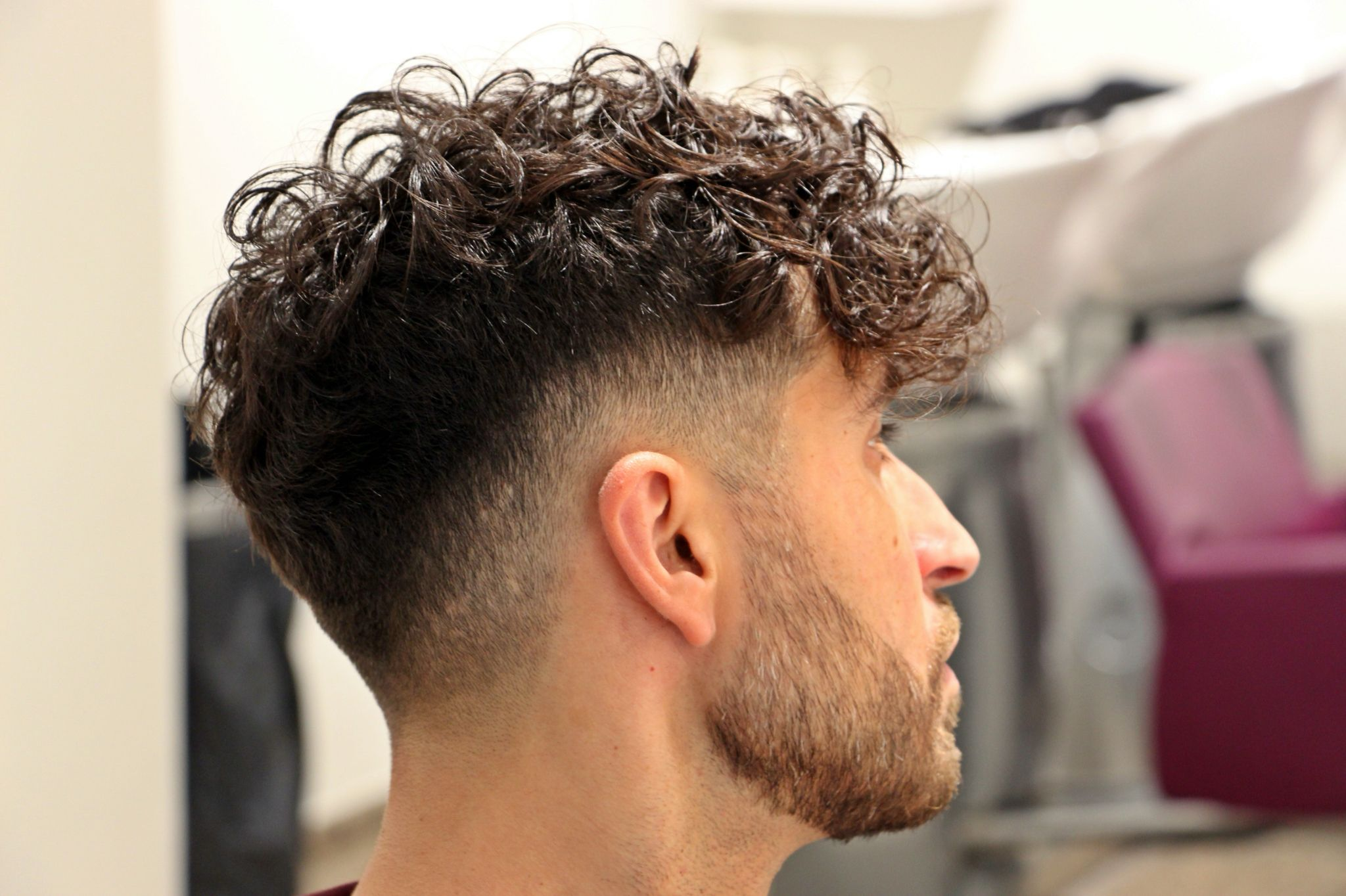 Haircuts men curly pin by ygor passos on cortes cachos  pinterest  haircuts curly