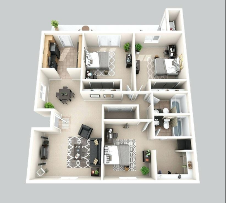 Icymi House Designs 3d View In 2020 House Blueprints House Plans House Design