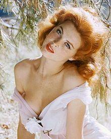 Tina Louise (February 11, 1934 - ), 1960. age 26 (gilligan's island)