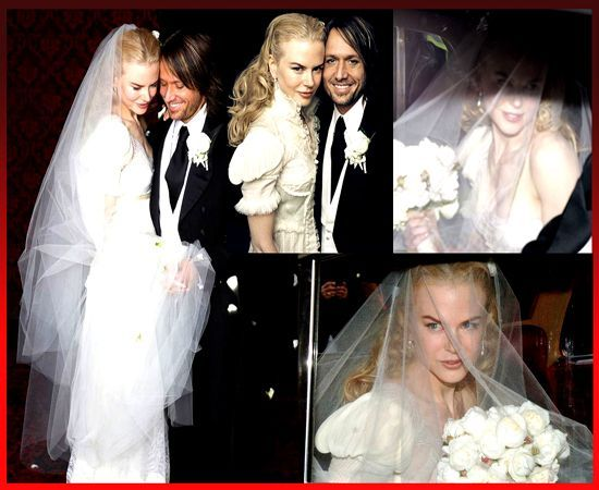 Nicole Kidman Keith Urban Wedding: Nicole Kidman Balenciaga Wedding Dresses