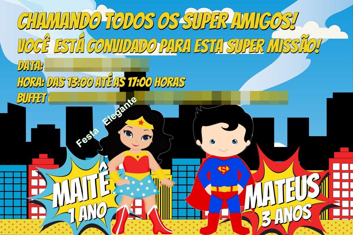 Pin De Ceiça Em Ceiça Painel Pinterest Superman Wonder Woman E Party
