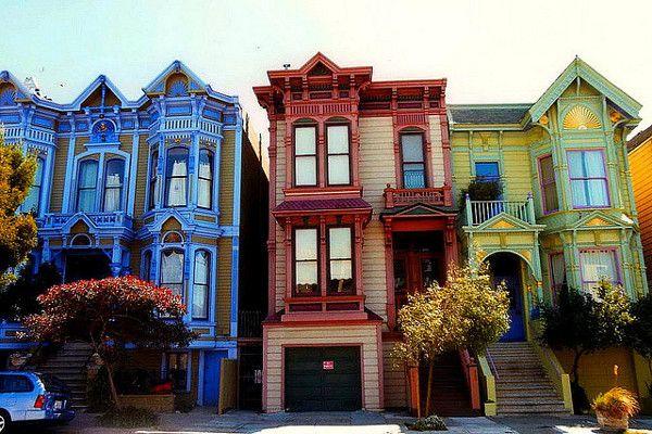 Città più colorate del mondo:San Francisco #Travelling #Viaggiare #Città #Colori