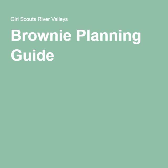 Brownie Planning Guide