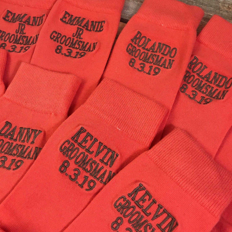 Wedding Gift From Groomsmen: Groomsmen Socks