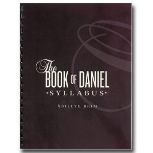 The Book of Daniel Syllabus (Book) | Billye Brim Ministries