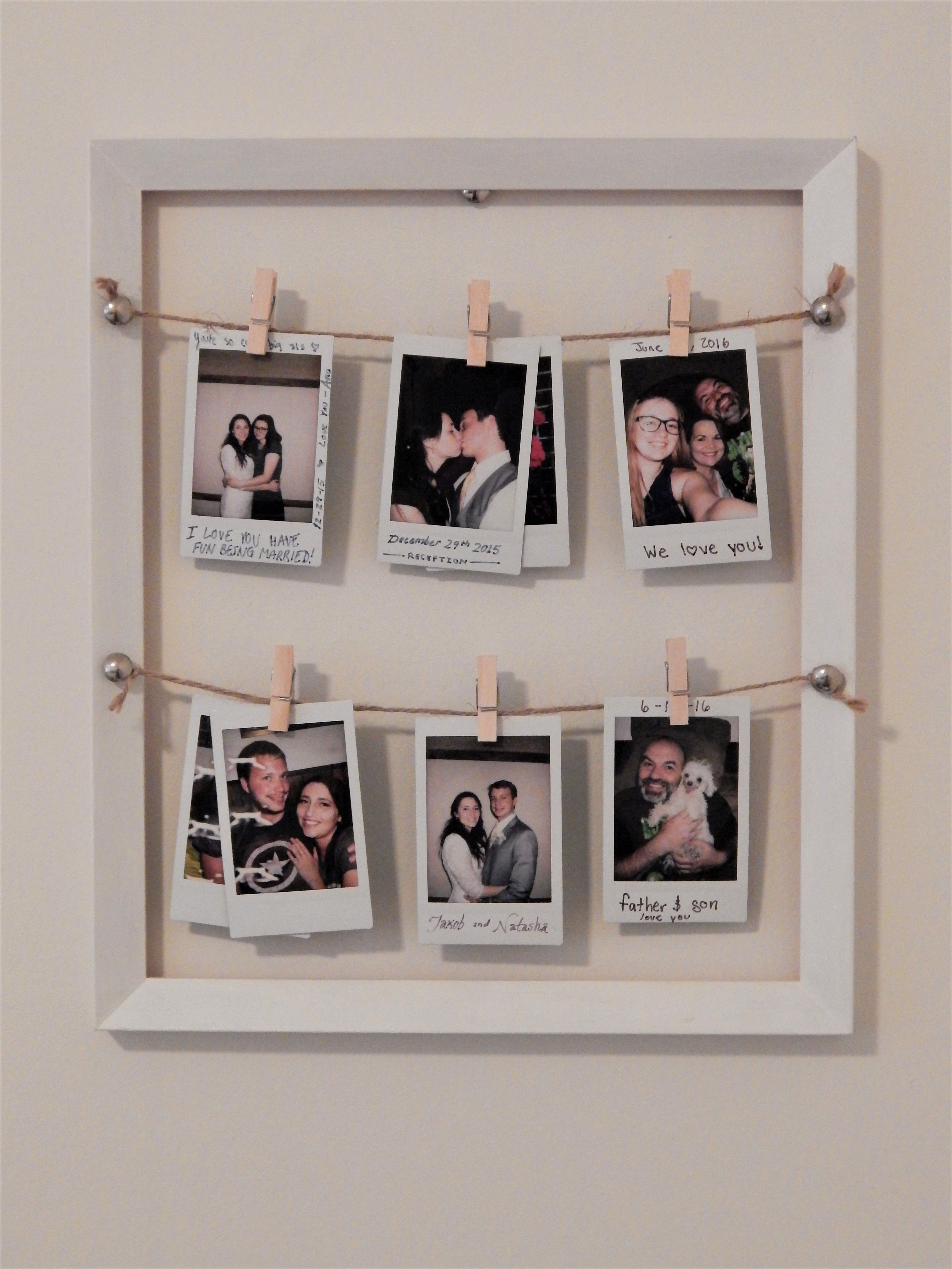 Picture Frame Photo Collage Diy Essentials 1 Wooden Frame Can