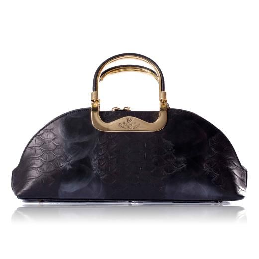 Walter Valentino Leather Handbag A Great Selection Of From Charlotte Reid London