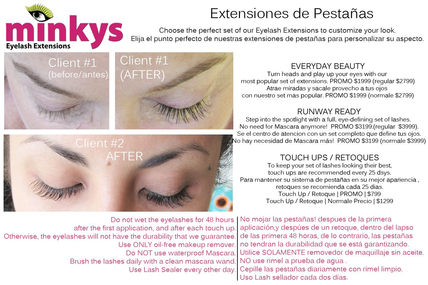 Salon de Belleza Merida | Hair Salon Merida. MINKYS EYELASH ...