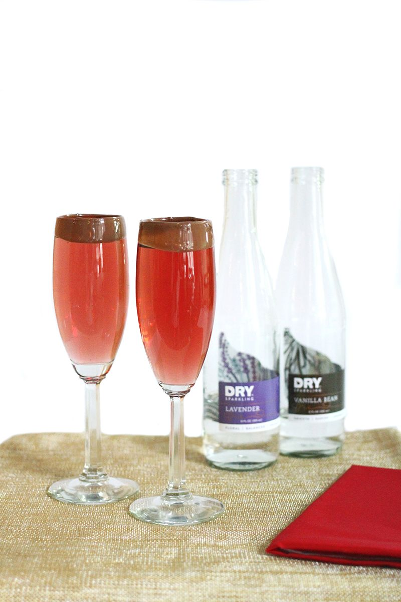 Add A Splash Of Romance To Your Weekend With Our Love Potion 214 Champagne Cocktail Love Potion 214 2 Oz Chilled Dry Spar Rose Wine Best Soda Wine Tasting