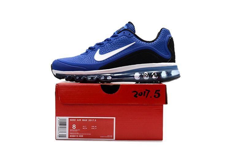 Nike Air Max 2017.5 Men Running Shoes Blue Black | Air Max