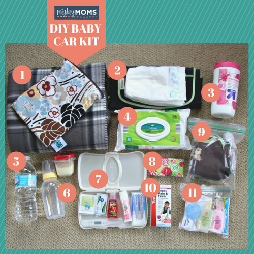 How To Build An Emergency Baby Car Kit In 3 Easy Steps New