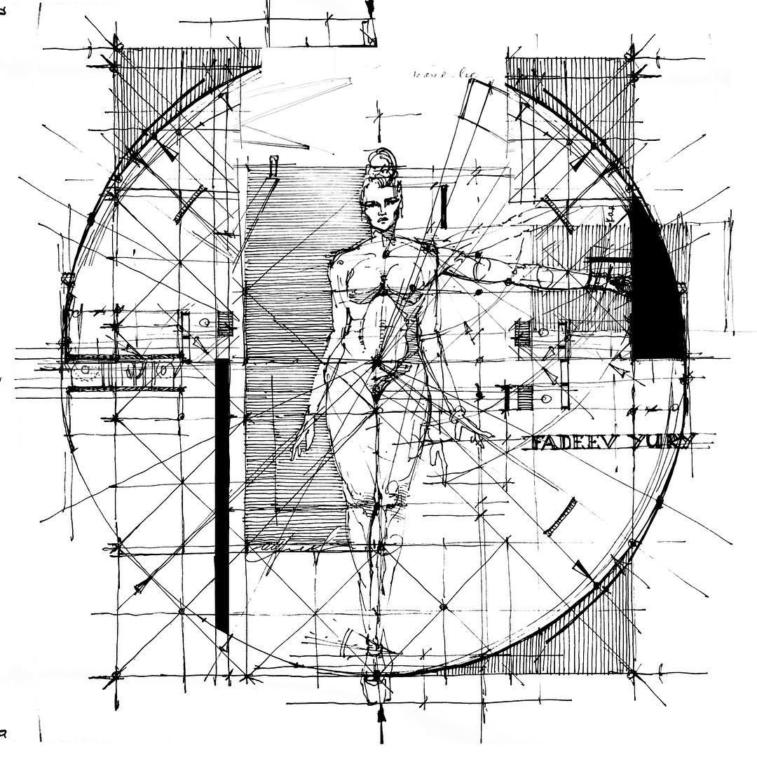 Sketches Image By Loyd Hutton On 602 - Yury Fadeev