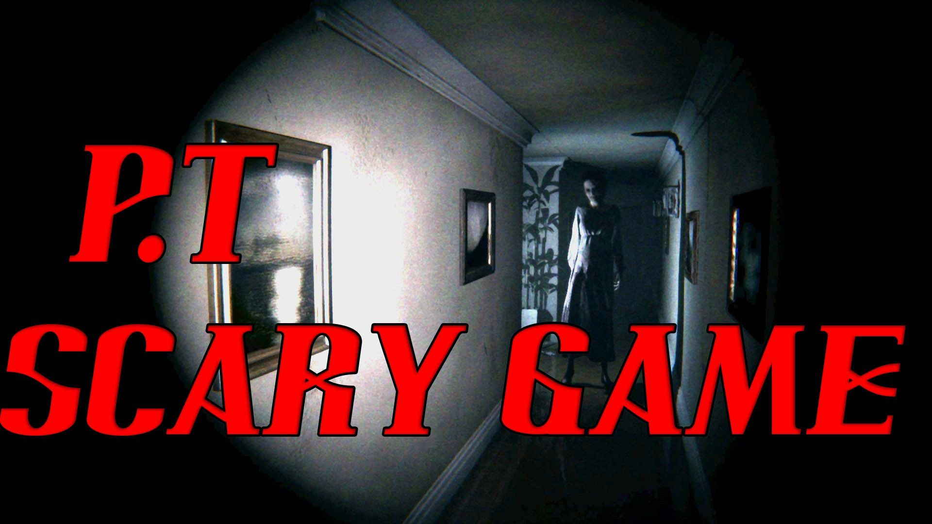 SCARY GAME P.T. (Silent Hills PS4 Horror Game) PS4 SCARY
