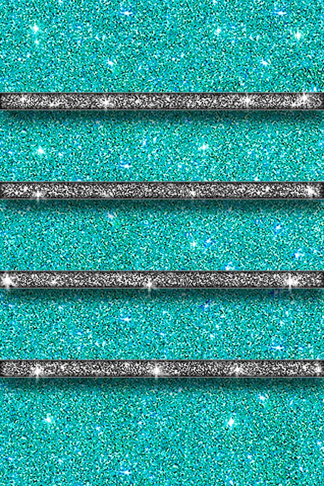 Teal home screen Sparkle wallpaper, Iphone wallpaper