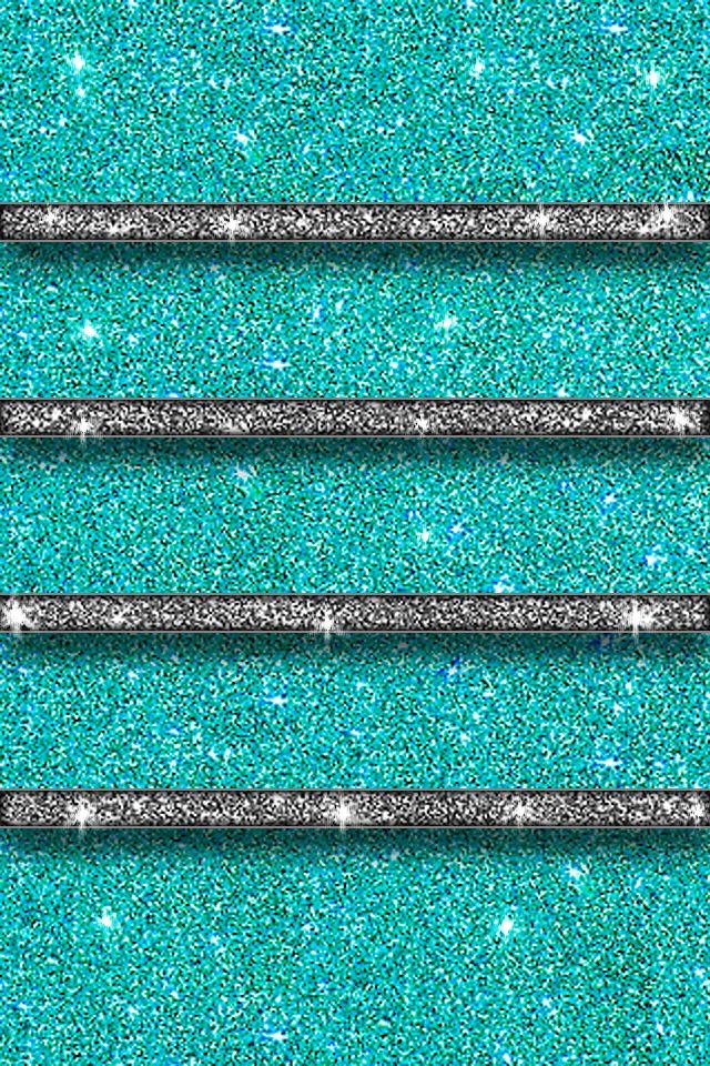 Teal home screen | Wallpaper | Pinterest | Iphone wallpaper glitter, Sparkle wallpaper and ...