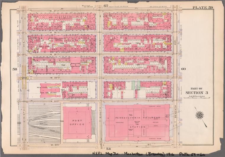 Atlas of the borough of Manhattan, city of New ...