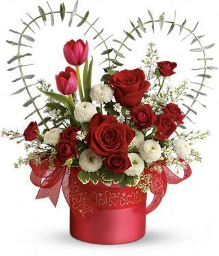 Valentine S Day Flower Arrangements Valentines Day Floral
