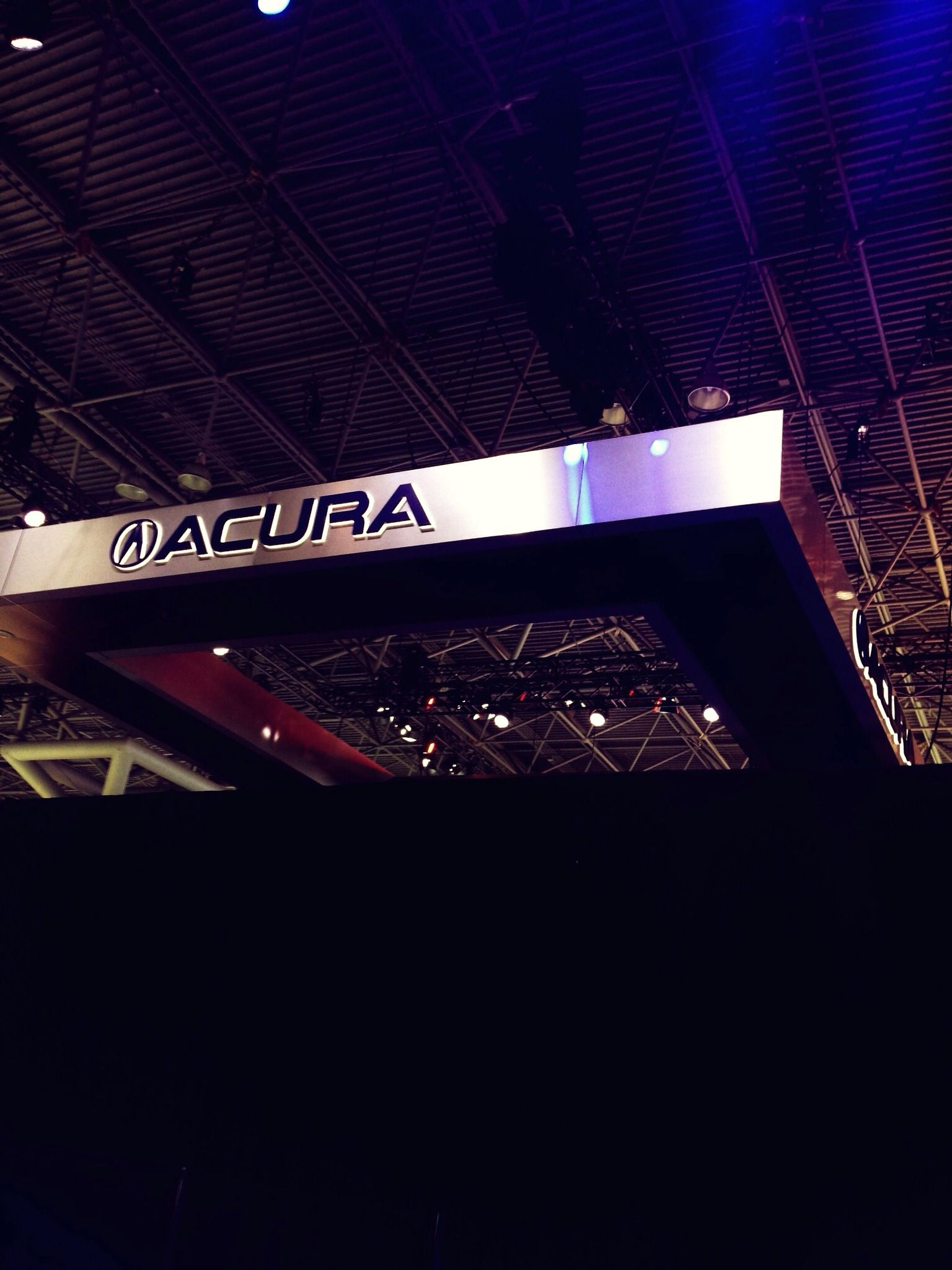 Acura press conference wednesday march 27h at 1210p