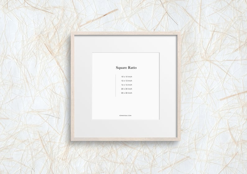 Frame Mockup 329 Beige Wood Square Frame Mockup Styled Thin Frame Mock Up Square Wall Art Display Psd Smart Object In 2020 Square Wall Art Photo Frame Wall Frames On Wall