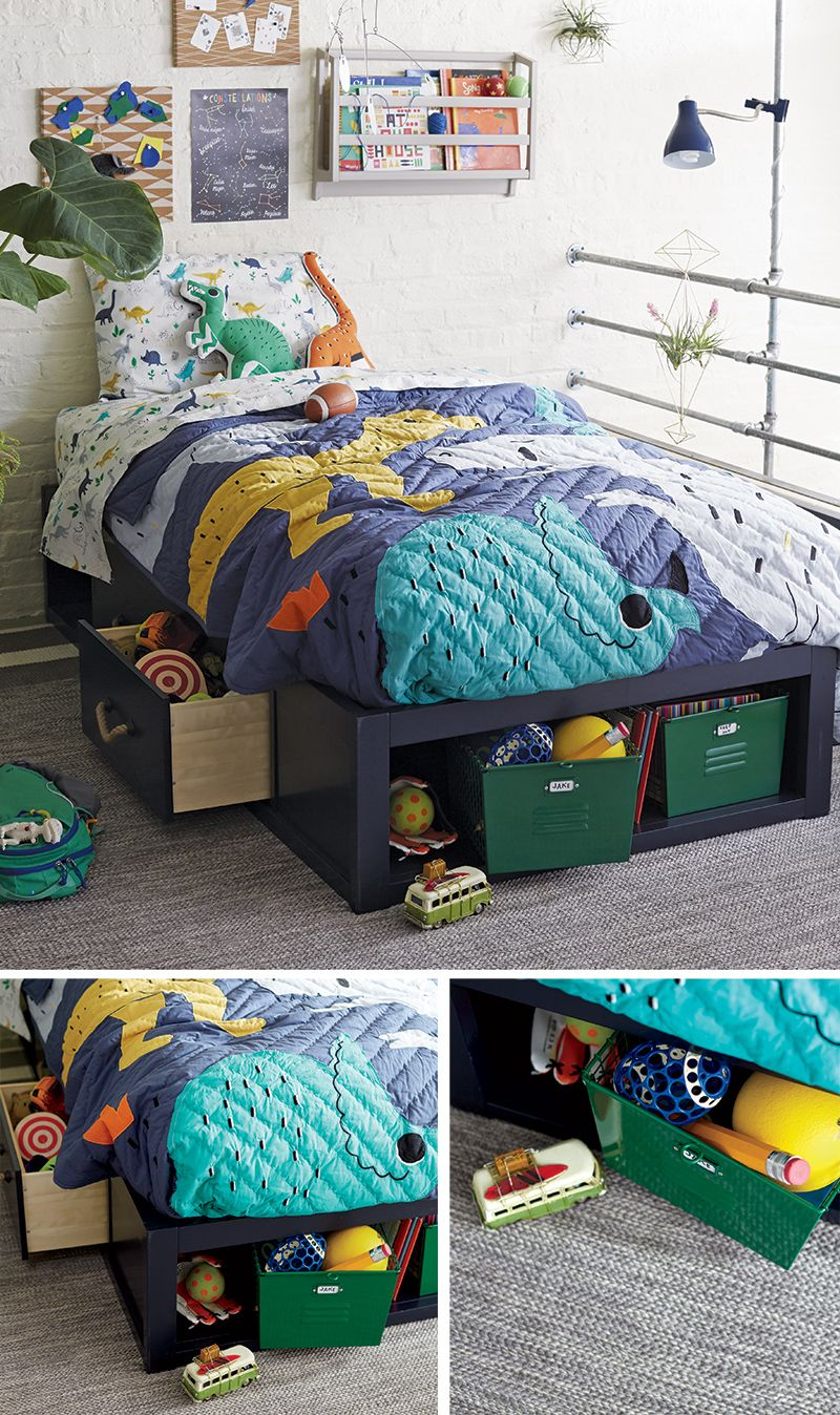 Maximizing storage in a small bedroom kids 39 bedroom - Maximize storage in small bedroom ...