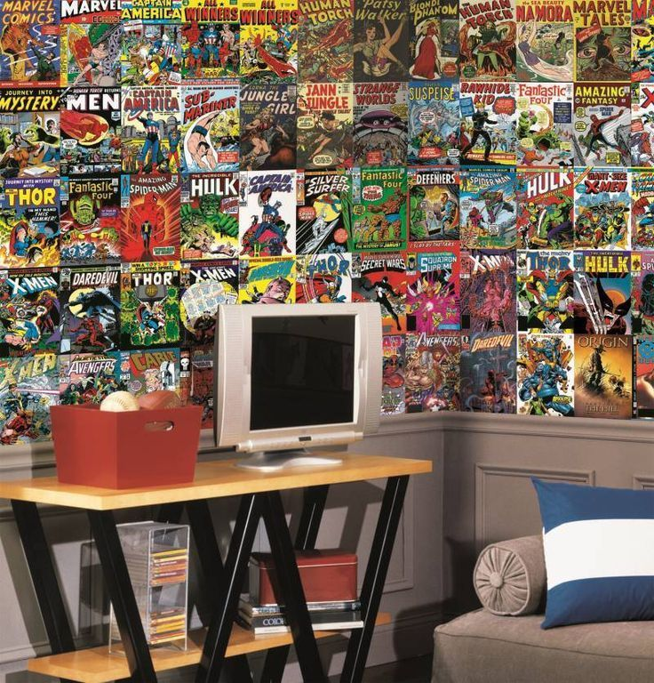 Comic Wallpaper For Bedroom