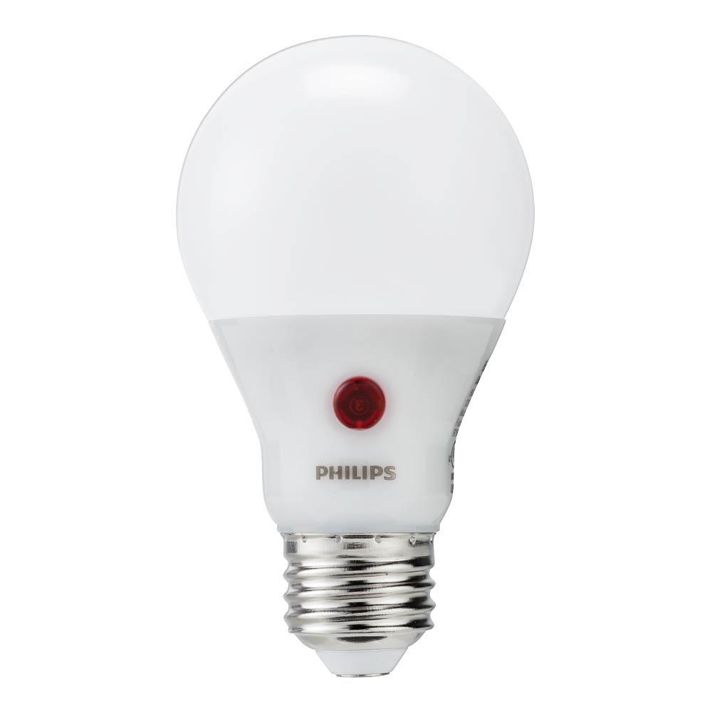 60 Watt Equivalent A19 Dusk To Dawn Automatic On Off Energy Saving Led Light Bulb Soft White 2700k Outdoor Light Bulbs Light Bulb Led Light Bulb