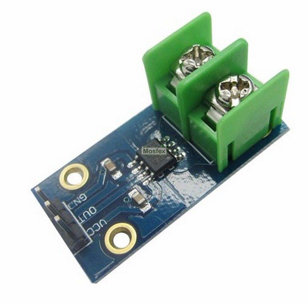 โมดูลวัดกระแส 20 แอมป์ 20A current Sensor Module ACS712 | ขาย