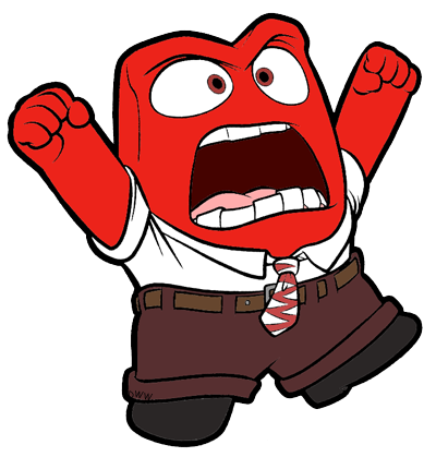 Anger Clip Art Insideout Angry Cartoon Face Cartoon Faces Angry Cartoon