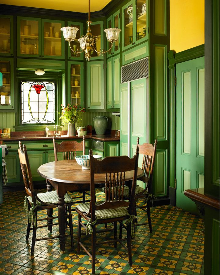Victorian Dining Room: The Victorian Era Color Collection