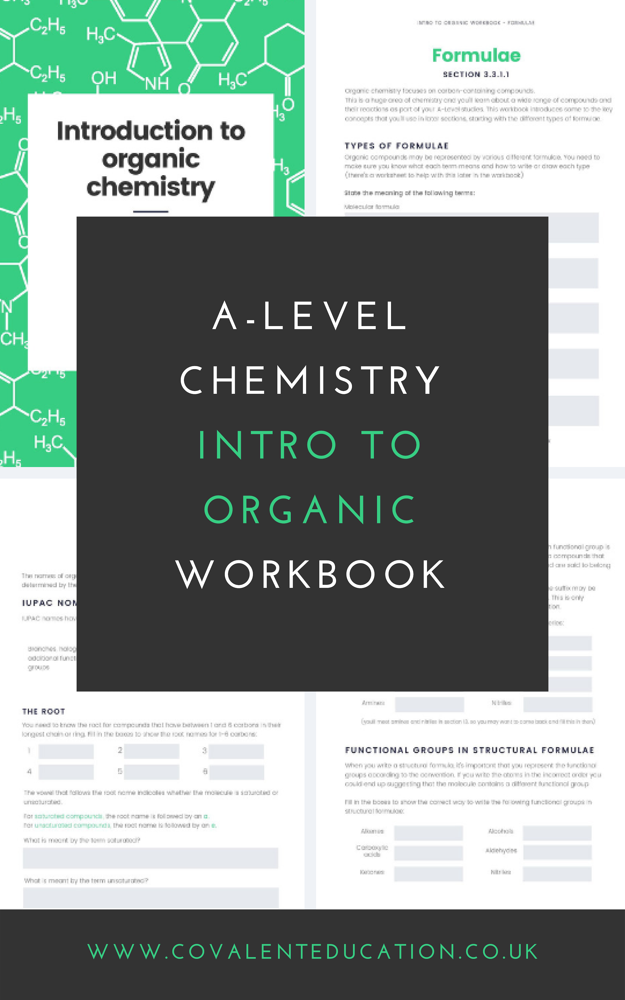 A Level Chemistry Introduction To Organic Chemistry