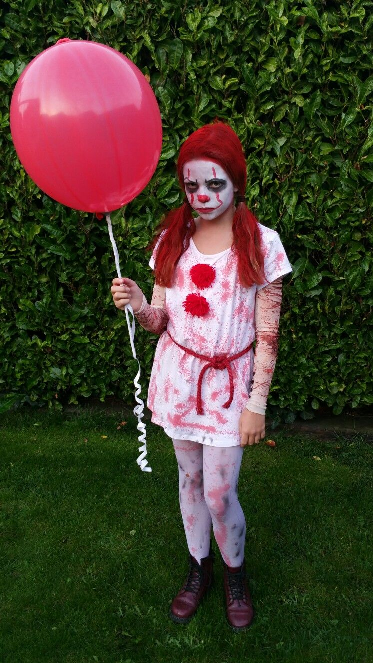 halloween costume pennywise pennywise girl it