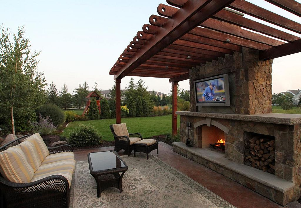 Awesome 20+ Fabulous Rustic Outdoor Fireplace Designs  Https://gardenmagz.com/