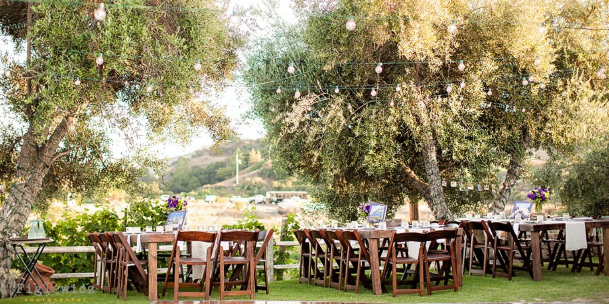 Saddlerock Ranch Wedding.Garden Setting At Saddlerock Ranch Weddings Get Prices For Los