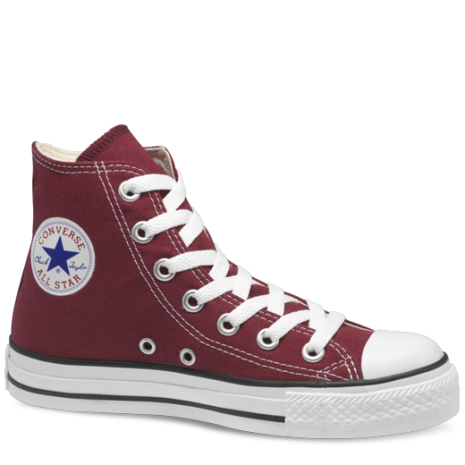 500b8f55e2ba Maroon High Top Chuck Taylor Shoes   Converse Shoes