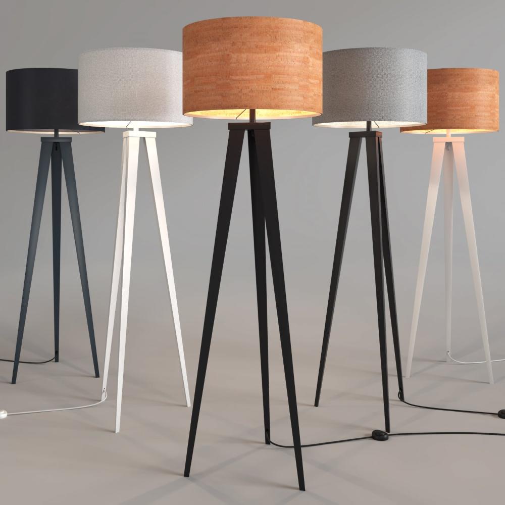 Zuiver Floor Lamp Tripod 3d Model In Floor Lamps 3dexport With Images Tripod Floor Lamps Lamp Floor Lamp