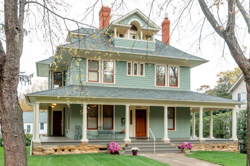Fassadenfarben Beispiele 14