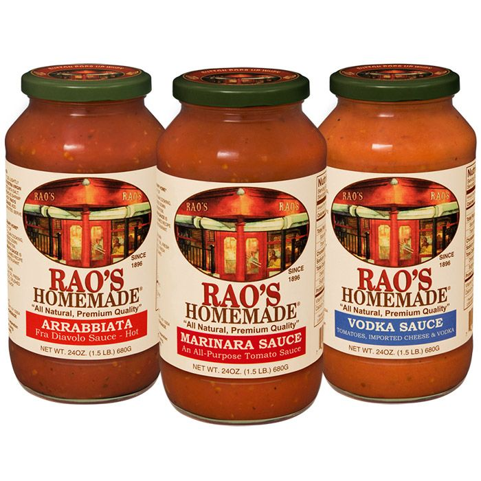 Rao's Pasta Sauces (great in a pinch; no artificial taste)