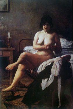 Le lever de la bonne (El despertar de la criada),Eduardo Sivori