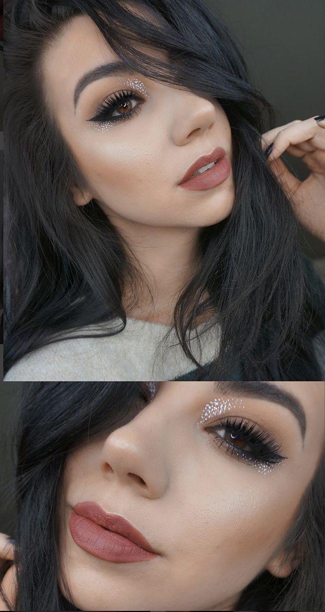 Eyeliner speckled tutorial images