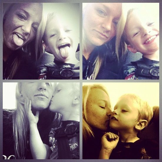 Teen Mom Maci Bookout's Mother Day's pics with Bentley. So cute.