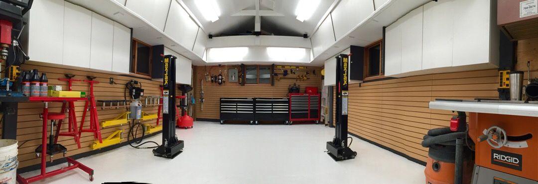 Woody's Works Garage - The Garage Journal Board