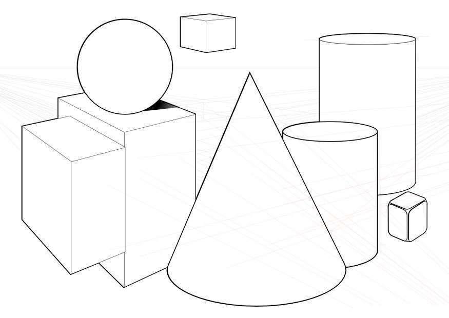 Dibujos geomtricos para colorear e imprimir gratis Foto 3535