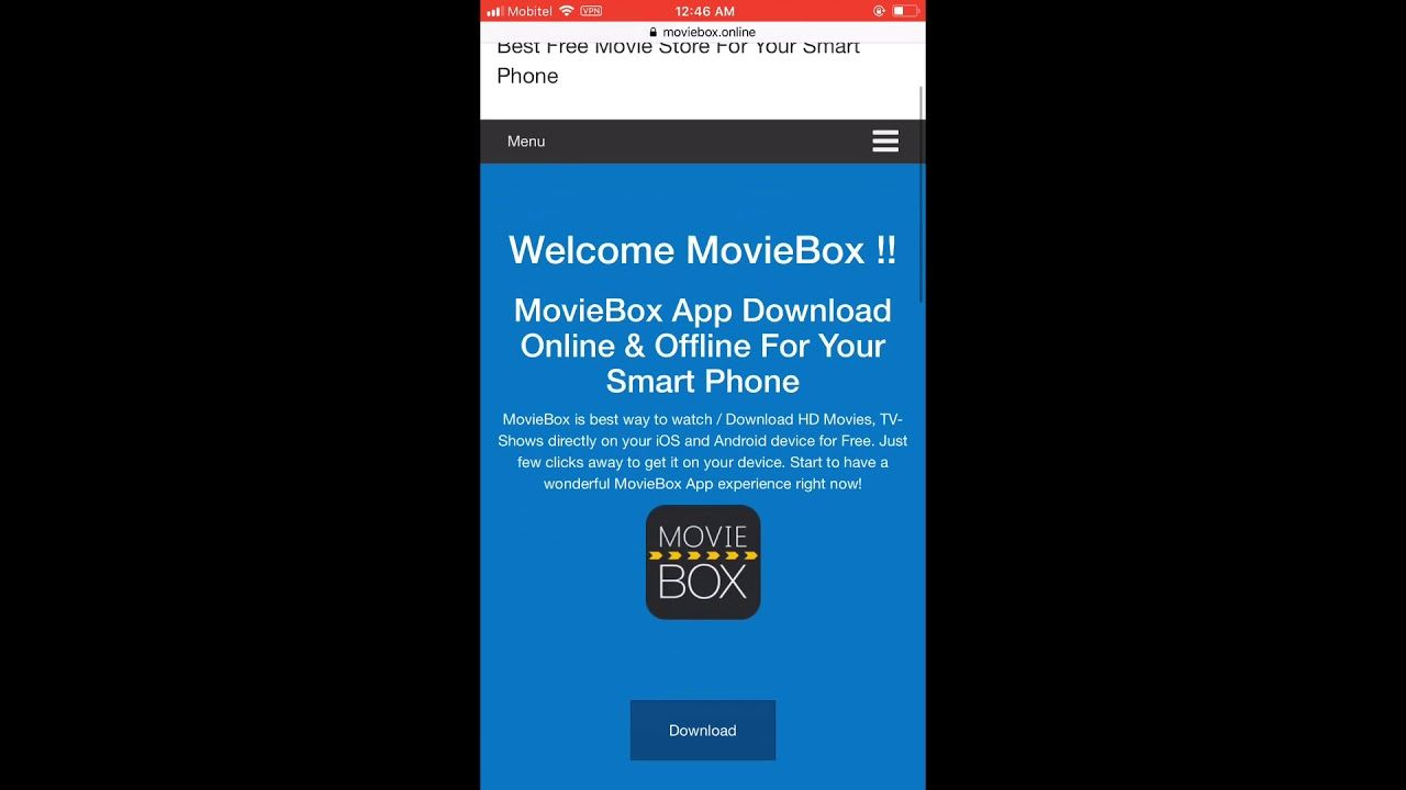 MovieBox PRO/VIP Free Download iOS 12 2 Online No Jailbreak