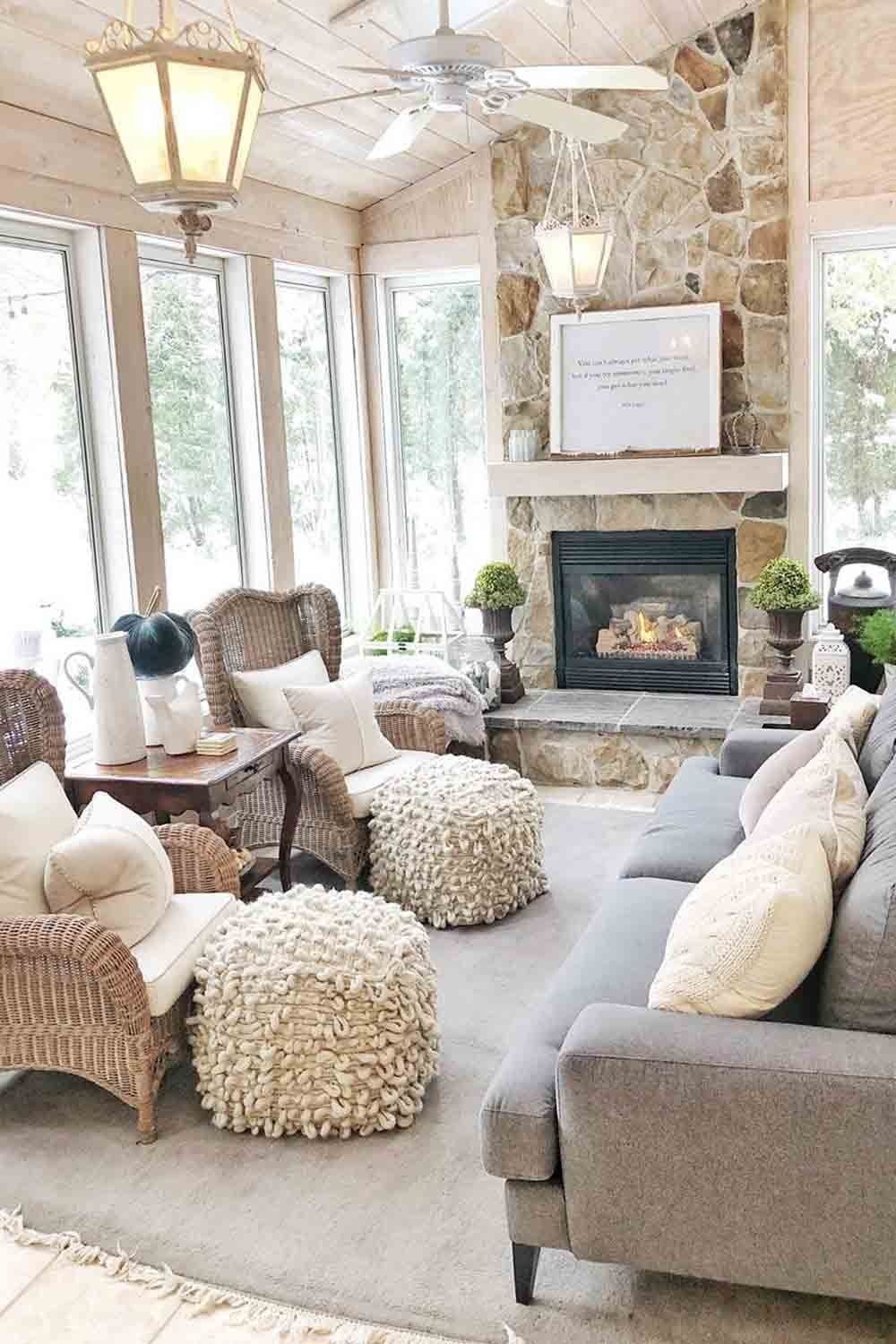 11 Sunroom Ideas: The Best Combo Of Indoor And Outdoor In One in