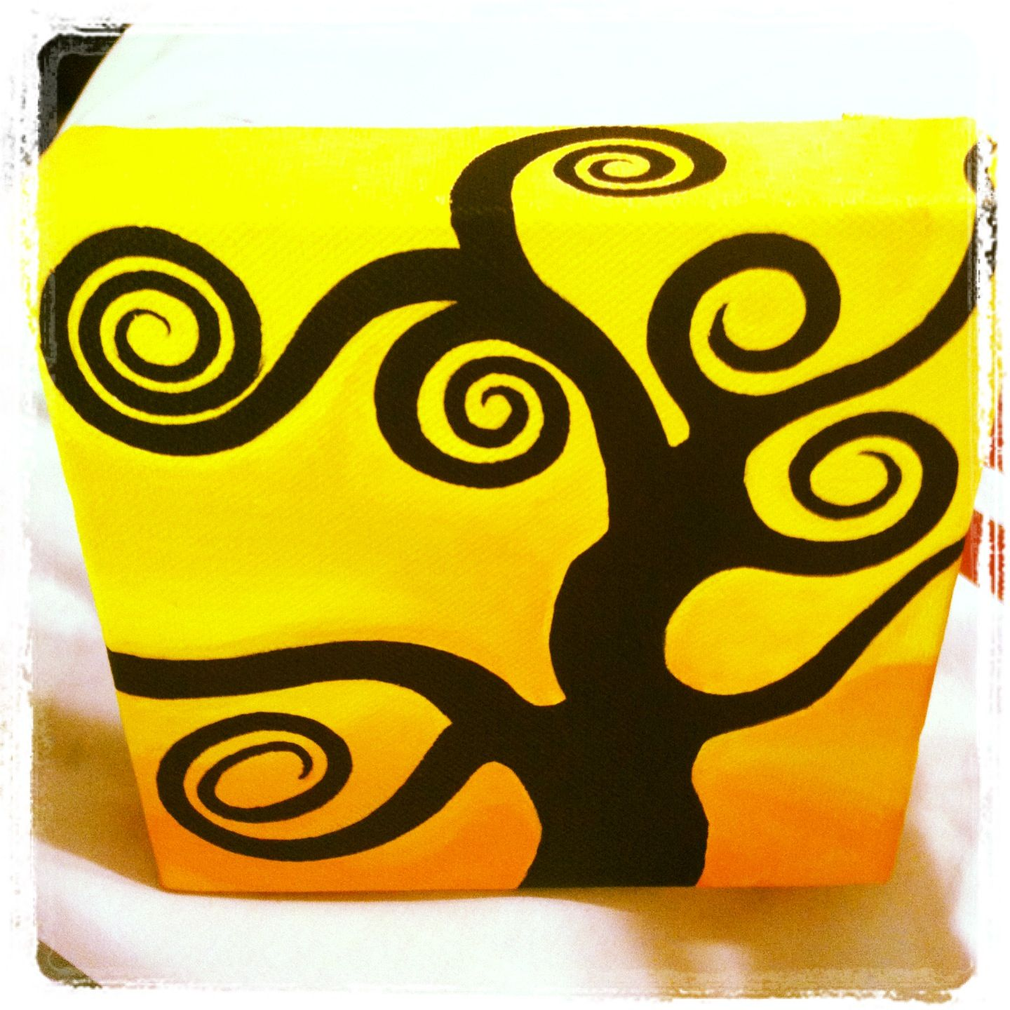 Whirling Tree  By Lovecloud Acrylic on Canvas