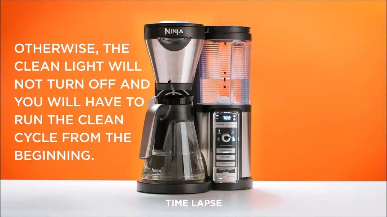 How to clean ninja coffee bar keep your coffee machine