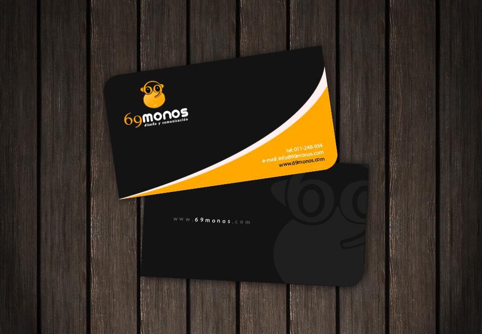 69 Monos Business Card by ~LemuriaDesign on deviantART   Business ...
