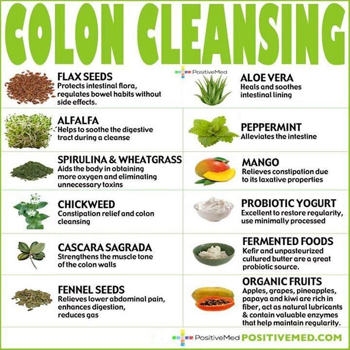 Colon cleansing foods which one do you eatjuice the most