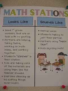 Room Mom 101: More on Math Work Stations